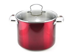 Kevin Dundon 8 QT Stock Pot Red