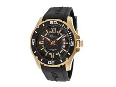 Elini Barokas Black Silicone Black Dial Watch