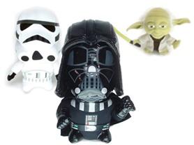 Star Wars Super Deformed Plush 6-Choices