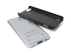 Ecopak iPhone 5 Battery Case - Slv/Blk