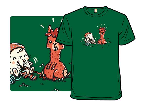 Image of 100% Alpaca Wool T Shirt