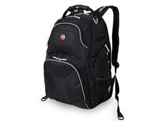SwissGear ScanSmart Backpack - Black/Grey