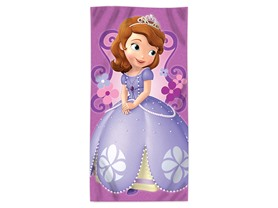 "Disney Sofia the First ""Floral Damask"" Beach Towel"