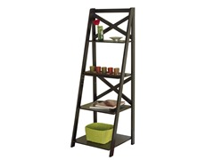 TMS X-4 Tier Shelf - Black