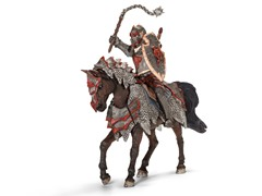 Schleich Dragon Knight w/Flail & Horse