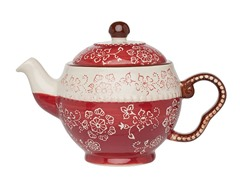Napa Teapot - Burgundy