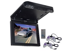 "10.4"" LCD Flip-Down Roof Mount DVD Player"