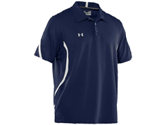 Signature On-Field Polo - Navy/White