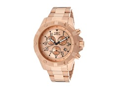 Invicta Men's Chronograph, 18K Rose Gold