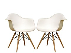 Accent Chairs Retro-Classic Set of 2