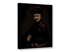 Plumber in the style of Rembrandt