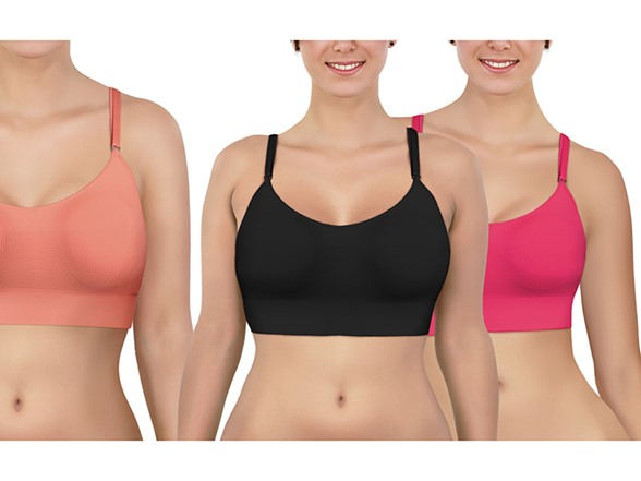 3 Pack Sports Yoga Bra AC191317A
