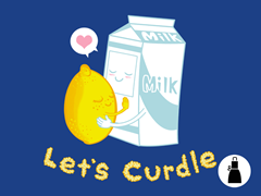 Let's Curdle Apron