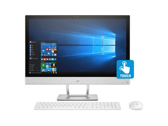 Hp Pavilion 24 Full-hd I5 Touch Aio Desktop