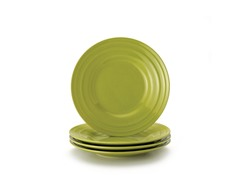 Green Salad Plates Set of (4) 8""