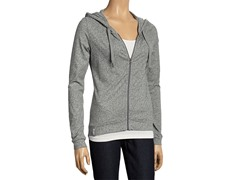 Women's Lotus Relaxed Hoodie - Grey