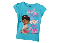 Doc McStuffins Tee - Turquoise (5/6-6X)