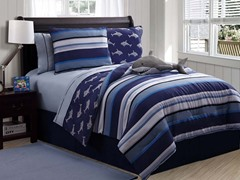 Twin Reversible Bedding Set Shark