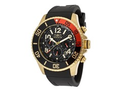 Invicta Black 18k Gold Polyurethane