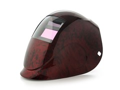 Python Red Fusion with 1000F Filter Welding Helmet