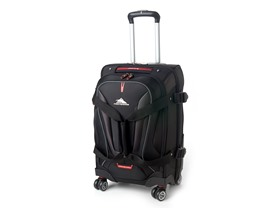 High Sierra Carry-On Spinner Duffel Black- 22""