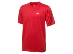 Fila Jester Red Heather Active Crew Neck