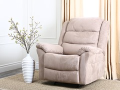 Clinton  Rocker Recliner, Beige