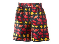 Black Fish Swim Short (Size 4T)