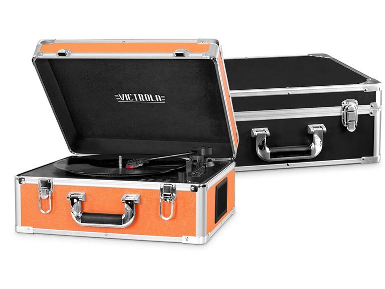 Victrola Bluetooth Record Player with CD Player