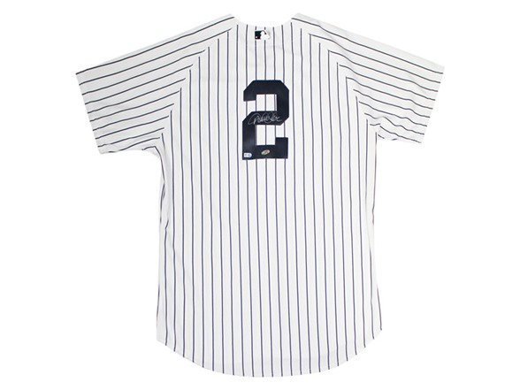 new product b92ed 9ce4f Autographed Yankees Pinstripe Jersey