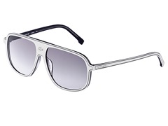 Fashion Sunglasses, White/Grey