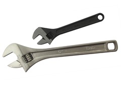 2-Piece Adjustable Wrench Set