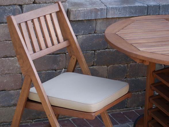Outdoor Interiors 7 Pc Fold Store Patio Furniture Set