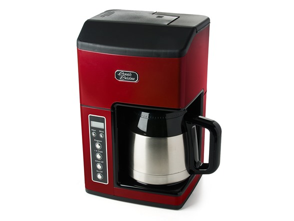 Cuisinart 10 Cup Coffee Maker Red