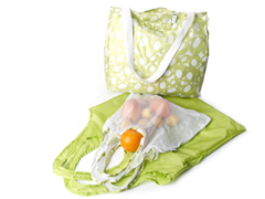 Good Kit 3 Grocery Bags  - Lime