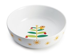 "Holiday Hoot 10"" Serving Bowl"