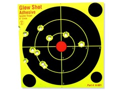 """6"""" DayGlo Splatter Targets 60-Pack"""