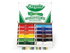 240ct. Color Pencils Classpack 12-Colors