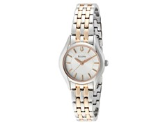 Women's Two-Tone Silver Dial Watch