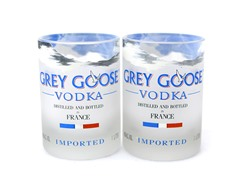 Blumarble Grey Goose Rocks Glass Set of 2