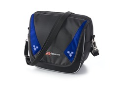 Metro Handlebar Bag - Black/Blue