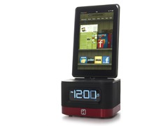 Alarm Clock & Charger for Kindle Fire