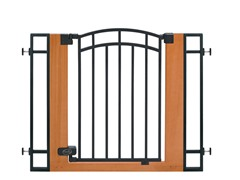 Wood/Metal Walk-Thru Gate