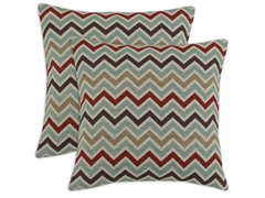 Zoom Zoom Nile Denton 17x17 Pillows - S/2