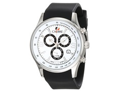 Calibre: Mauler Men's White Watch