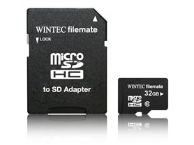 Filemate 16 or 32GB Class 10 microSDHC Card