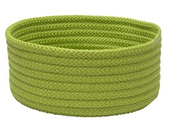 Bright Green Woven Storage Basket - 3 Sizes