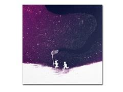 Budi Satria Kwan Starfield Purple- Multiple Sizes