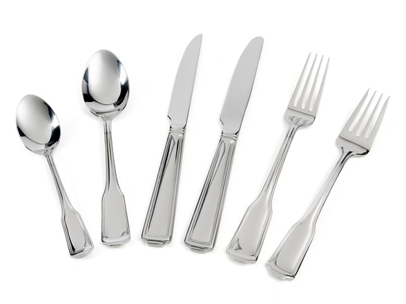 Wallace 1810 92pc Flatware Set Whitney