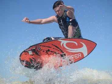 Wakesurfing Boards by Inland Surfer